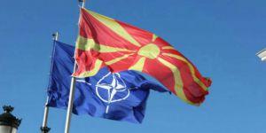 Gladyo bayrağı Makedonya'da göndere çekildi