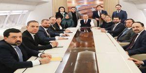 Erdoğan: Kürt-Türk meselesinin karşımıza getirilmesi bizi üzüyor