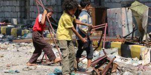 1,2 milyon çocuk savaşın ortasında