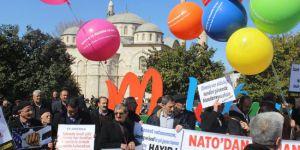 Nato ve Üslerine Hayır Protestosu