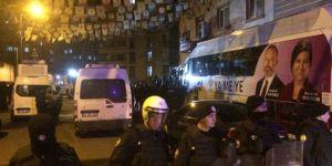 HDP Diyarbakır il binasına baskın