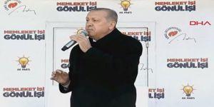 Erdoğan: Hızlı tren benim Kürt kardeşime çok mu?