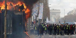 Fransa'da Sarı tansiyon yüksek