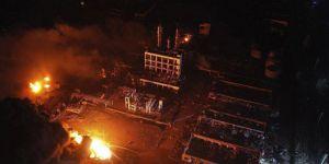 Deprem yaratan patlamada 64 ölü