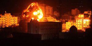 Terör Devleti İsrail'den Gazze'ye saldırı