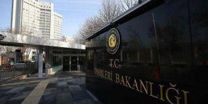Türkiye'den İtalya Parlamentosuna kınama