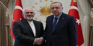 Erdoğan ile Zarif görüşü