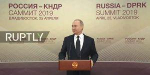 Putin: Kuzey Kore'ye nükleer silahsızlanma karşılığında güvenlik garantileri verilmeli