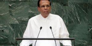 Sri Lanka Devlet Başkanı'ndan IŞİD'e: Ülkemi rahat bırak
