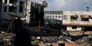 Katil İsrail'den Gazze'ye hava saldırısı: 2 ölü