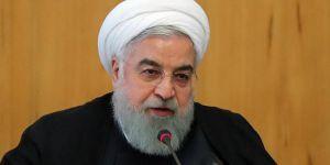 Ruhanî: Hinek alî bawer nakin ku em bi Amerîkayê re di nava şer de ne
