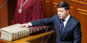 Ukrayna'da yeni Devlet Başkanı meclisi feshetti