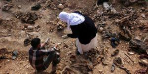 BM'den Şengal'de toplu mezar incelemesi