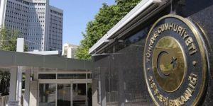 Dışişlerinden ABD'ye tepki: Müttefiklik ilişkileriyle bağdaşmıyor