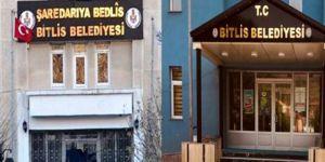 Ak Parti, Bitlis Belediyesi'ndeki Kürtçe tabelayı indirdi