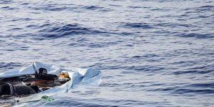 Ege'de göçmenleri taşıyan tekne battı: 2'si çocuk, 7 kişi öldü