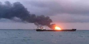 Umman Denizi'nde iki petrol tankerinde patlama