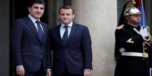 Macron: Kürdistan Bölgesine yardım etmeye devam edeceğiz