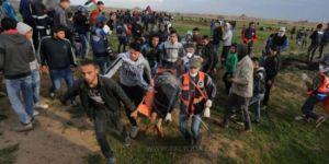 Siyonist Rejim Göstericilere Saldırdı