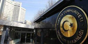 Dışişleri: AB zirvesinde kabul edilen ortak bildiriyi reddediyoruz