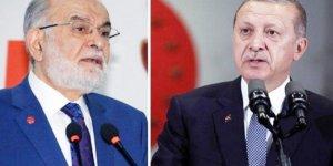 Erdoğan'dan Saadet Partisi'ne ortak oluşum çağrısı