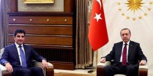 Cumhurbaşkanı Erdoğan ile  Neçirvan Barzani görüşmesi başladı