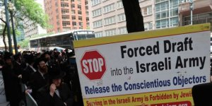 Yahudilerden İsrail Protestosu