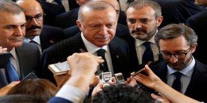 Erdoğan'dan kabinede revizyon açıklaması