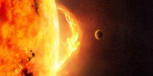 ''Güneş fırtınası Dünyayı Tehdit Edecek''