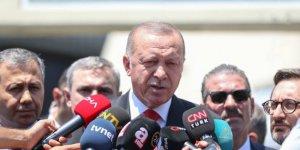 Erdoğan Dengir Mir Mehmet Fırat'ı ziyaret etti