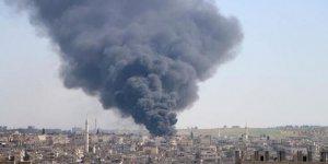 İdlib'e yapılan hava saldırılarında 18 kişi hayatını kaybetti