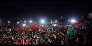 Pakistan'da 'Kara Gün' protestosu