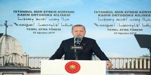 Erdoğan'dan Ayrımcılık Açıklaması