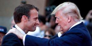 Trump'tan Macron'a İran Suçlaması