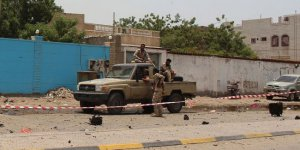 Yemen'de cumhurbaşkanlığı sarayı düştü