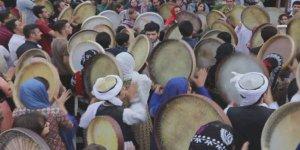 Doğu Kürdistan'da 9'uncu Uluslararası Def Festivali başladı