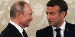 Macron ile Putin Suriye ve İran'ı görüşecek