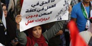 Filistinli mülteciler genel greve başlattı