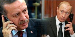 Erdoğan ile Putin telefonda Suriye ve Libya'yı görüştü
