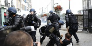 Göstericilere Sert Müdahale