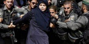 17 Bin Filistin'li Kadın Göz Altına Alındı