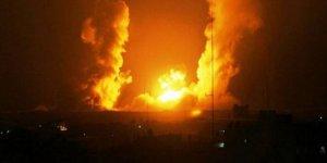 Siyonist Rejimden Suriye'ye Saldırı