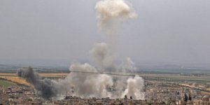 ABD İdlib'i Vurdu