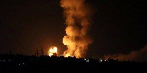 Siyonist rejimden Gazze'ye hava saldırısı