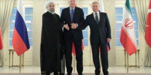 Üçlü Zirve sonrası Erdoğan, Ruhani ve Putin'den açıklama