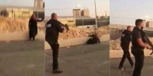 Filistinli kadını alçakça şehit ettiler