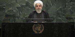 """Ruhani'den ABD'ye """"baskı siyasetine son ver"""" çağrısı"""