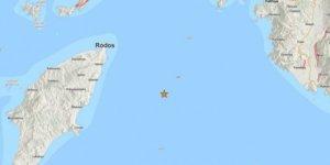 Yunanistan'da 5 büyüklüğünde deprem