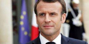 Macron bi şandeke HSDê re civiya