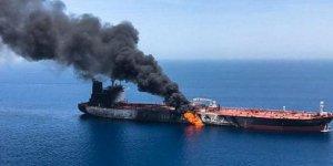 Suudi Arabistan açıklarında İran tankeri patladı
